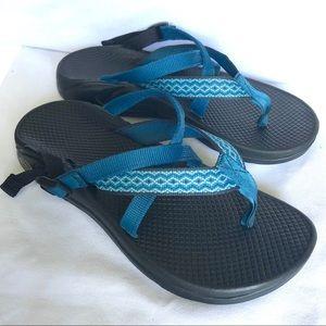Chaco Sandals size 8 blue color